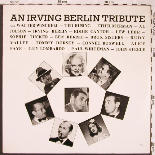 Berlin,Irving - A Tribute: Introd. Walter Winchell, Ted Husing, Famous Personality(1001), US,  - LP - X1834 - 6,00 Euro