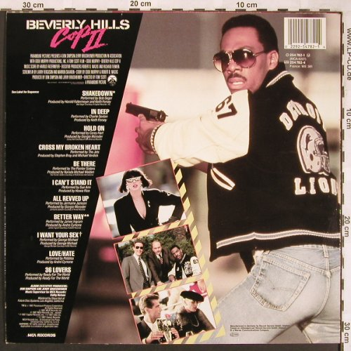 Beverly Hills Cop II: Original Soundtrack,11 Tr., MCA(254 782-1), D, 1987 - LP - X1840 - 5,00 Euro