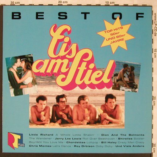 Eis Am Stiel: Best Of,18 Tr., Edelton(EDL 2534-1), D, 1990 - LP - X1897 - 5,50 Euro