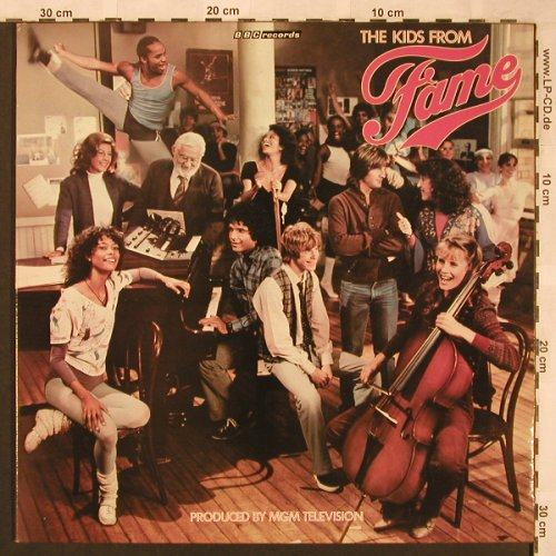 Fame - The Kids from: Same, Foc, BBC(REP447), , 1982 - LP - X1899 - 5,00 Euro
