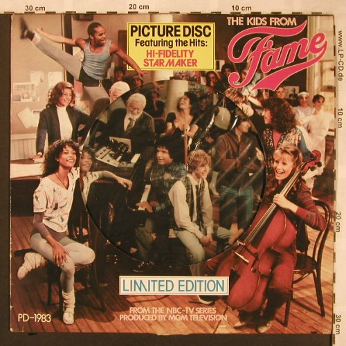 Fame - Kids From Fame: From NBC-TV Series,Lim.Ed., RCA(PD-1983), NL,m-/vg+, 1982 - PLP - X1907 - 5,00 Euro