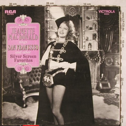 Mac Donald,Jeanette: San Francisco and other ..., m-/vg+, RCA Victrola(VIC-1515), UK - Mono, 1970 - LP - X280 - 5,00 Euro