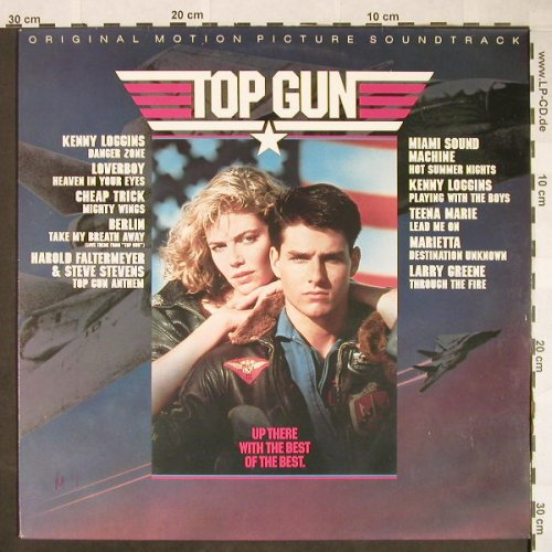 Top Gun: Kenny Loggins...Larry Greene, CBS(70296), NL, 1986 - LP - X2898 - 4,00 Euro