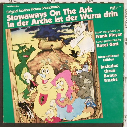 Stowaways On The Ark: In der Arche ist der Wurm drin, JMP(4018), D, 1988 - LP - X3088 - 7,50 Euro