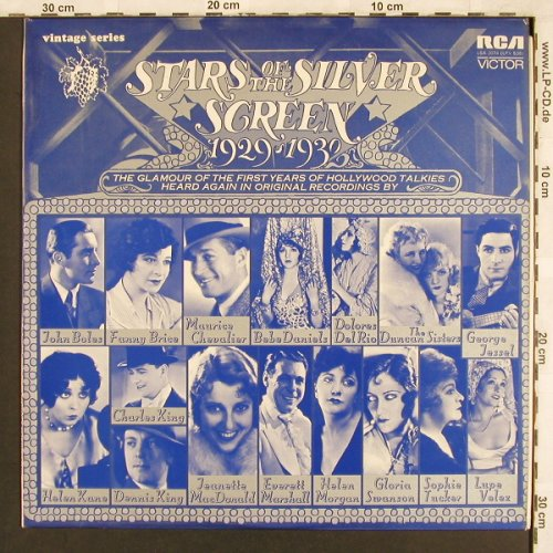 V.A.Stars Of The Silver Screen: RCA Victor Vintage Series, RCA(LSA 3074LPV-538), US, 1967 - LP - X3300 - 6,50 Euro