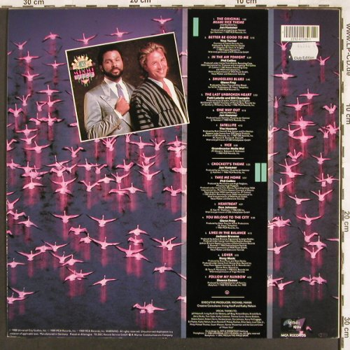 Miami Vice: The Best of, Club Edition, MCA(271 746-1), D, 1988 - LP - X3411 - 5,00 Euro