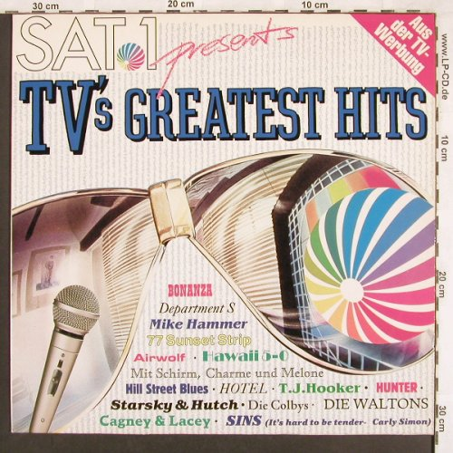 V.A.SAT 1- TV'sGreatest Hits: 77 Sunset Strip...Hotel, Edelton(EDL 2509-1), D, 1988 - LP - X3446 - 4,00 Euro