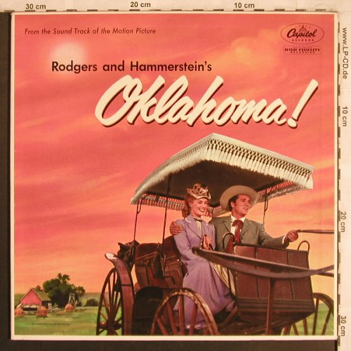 Oklahoma!: From the Original Soundtrack, Foc, Capitol(WAO 595), US,  - LP - X3993 - 6,00 Euro