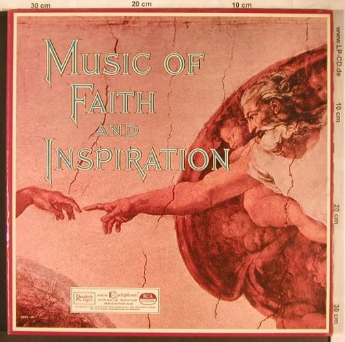 V.A.Music of Faith and Inspiration: Jack Halloran Choir,Dr.H.V.Mitzelfe, Reader's Digest(RD41-M), US,Box,  - 3LP - X4986 - 9,00 Euro