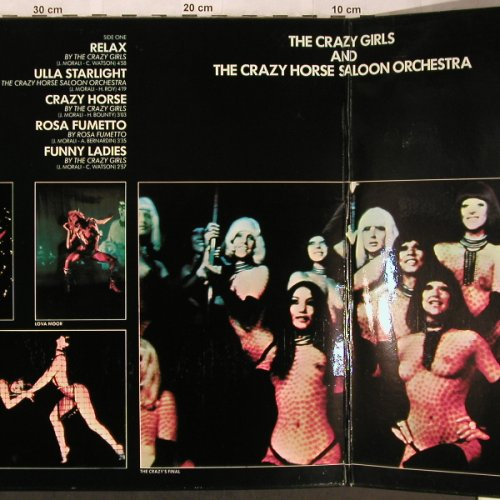 Crazy Horse Saloon - Paris France: now the Crazy Girls sing, Foc, Carabine(26700), F, 1974 - LP - X4999 - 10,50 Euro