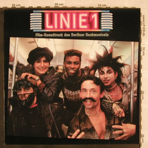 Linie 1: Film-Soundtrack des Berliner Rockm., Polydor(835 391-1), D, 1988 - LP - X503 - 3,00 Euro
