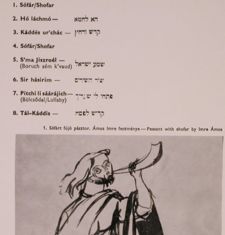 V.A.Music of the Bible-Old Hebrew S: Arrang.by I.Patachich,Laszlo Sandor, Qualiton(LPX 18005), H, Foc,  - LP - X5069 - 7,50 Euro