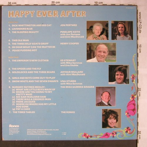 V.A.Happy Ever After: Jon Pertwee...The Ronks(1977), Ronco(RTLO 2068-B), UK, m-/vg+, 1981 - LP - X5130 - 5,50 Euro