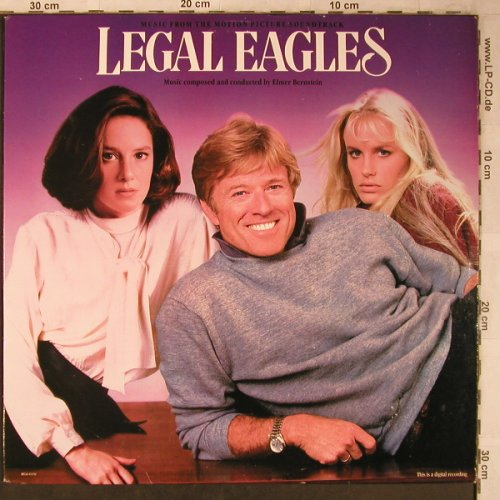 Legal Eagles: Music from, by Elmer Bernstein, MCA(MCA-6172), US, 1986 - LP - X5344 - 6,00 Euro