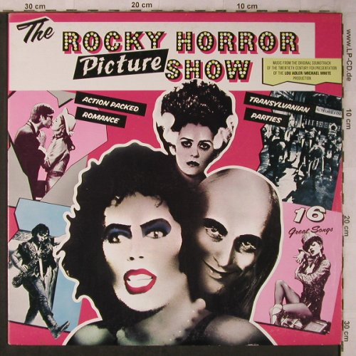 Rocky Horror Picture Show: Original Soundtrack, ODE/Epic(ODE 21653), CDN, 1975 - LP - X5656 - 6,00 Euro