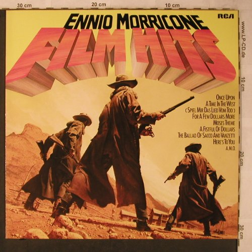 Morricone,Ennio: Film Hits-Take Off!, Ri, RCA(NL 70 091), D, 1978 - LP - X5666 - 5,00 Euro