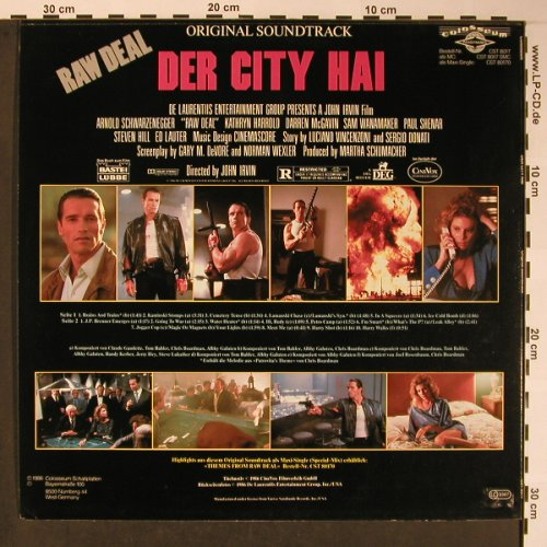 Der City Hai / Raw Deal: Original Soundtrack, Colosseum(CST 8017), D, 1986 - LP - X5807 - 15,00 Euro