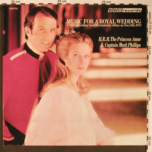 Musik for a Royal Wedding: A BBC Rec. Fr. Westminster A.,Foc, Polydor, BBC records(2383 256), D, 1973 - LP - X5841 - 9,00 Euro