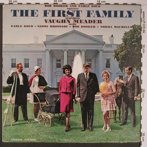 First Family: Bob Booker/Earle Doud,spoken in us, Cadence Record(CLP 3060), US, m-/vg+,  - LP - X6261 - 5,00 Euro