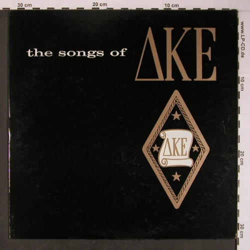 Delta Kappa Epsilon / DKE: Songs of, vg+/Cover in bad cond, Eddy Sareanki Prod.(KO9P-2406), US, 1959 - LP - X6271 - 6,00 Euro