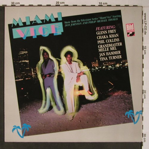 Miami Vice: Original Soundtrack,11Tr,BILD Cover, MCA(254 453-1), D, 1985 - LP - X6701 - 5,00 Euro