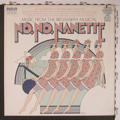 No,No Nanette and Showboat: Music of the Broadway Musical, RCA(LSP-4504), US, Co, 1971 - LP - X6783 - 9,00 Euro