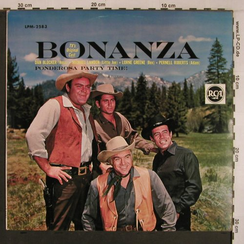 Bonanza: Ponderosa Party Time, RCA(LPM-2583), D, Mono, 1962 - LP - X6871 - 30,00 Euro