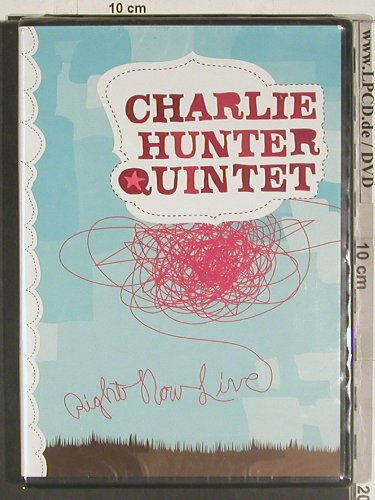 Hunter,Charlie: Right now Live, FS-New, Ryko(RDVD 16030), EU, 2004 - DVD-V - 20043 - 10,00 Euro