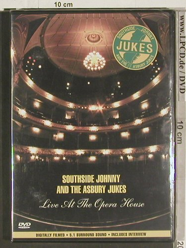 Southside Johnny and t.Asbury Jukes: Live at the Opera House, FS-New, Secret Films(SECDVD 106), , 2003 - DVD-V - 20047 - 10,00 Euro