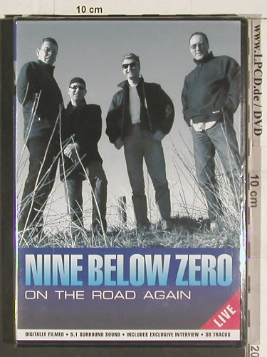 Nine Below Zero: On the Road again-Live, FS-New, Secret Films(SECDVD 111), , 2003 - DVD-V - 20049 - 7,50 Euro