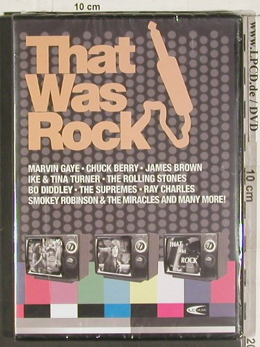 V.A.That Was Rock: Marvin Gaye,Chuck Berry.., FS-New, ILC(DVD2385), , 04 - DVD-V - 20089 - 12,50 Euro