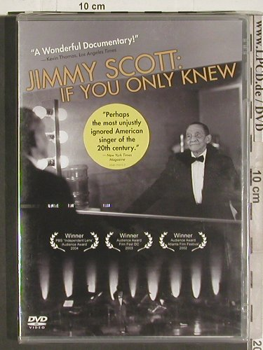 Scott,Jimmy: If You Only Knew, Documentary, Warner(0349 70373-2), FS-New, 04 - DVD-V - 20102 - 5,00 Euro