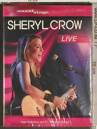 Crow,Sheryl: Live - FS-New, HD Ready(SOUND 001), EU, 2008 - DVD-V - 20208 - 12,50 Euro