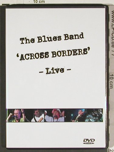 Blues Band: Acreoss Borders - Live, Hypertension(HYP 4226), EU, 2004 - DVD-V - 20209 - 10,00 Euro