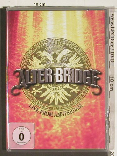 Alter Bridge: Live From Amsterdam, FS-New, DC3(0109), US, 2009 - DVD-V - 20221 - 10,00 Euro