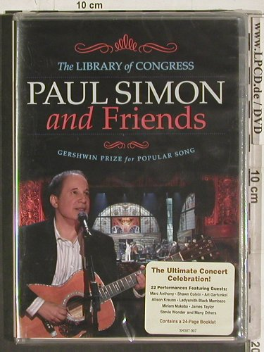 Simon,Paul and Friends: The Library of Congress, Gershwin, Shout(SHOUT 007), EU, FS-New, 2009 - DVD-V - 20227 - 12,50 Euro