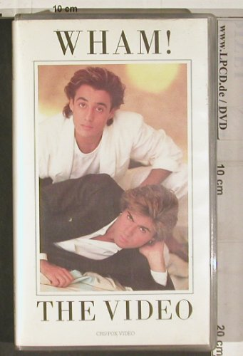 Wham: The Video ( 21 min), CBS/Fox(3048-50), D, 1984 - VHS - 20247 - 5,00 Euro