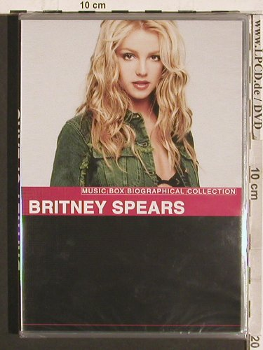 Spears,Britney: Music Box Biographical Collection, Plastic Head Prod.(PHV011DVD), FS-New, 2005 - DVD - 20266 - 6,00 Euro