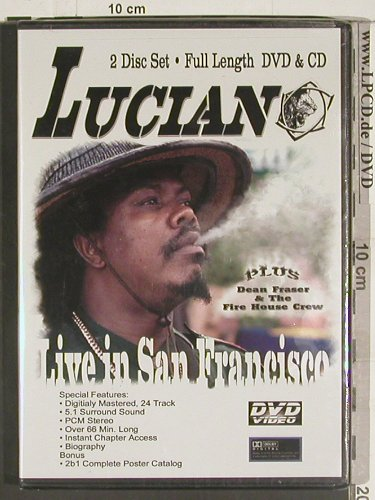 Luciano: Live in San Francisco, FS-New, Co, 2B1 Multim.(TBO 2067), US, 2004 - DVD - 20044 - 7,50 Euro