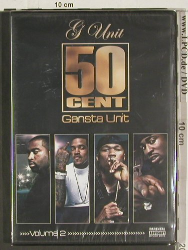 G Unit & 50 Cent: Gangsta Unit, Vol.2, FS-New, G-Unit Films(RDV16 NT104), , 2004 - DVD-V - 20051 - 10,00 Euro