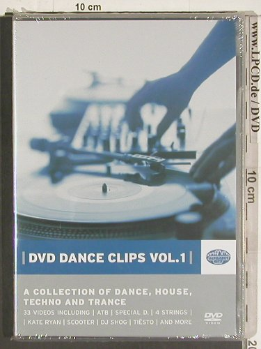 V.A.Dance Clips Vol. 1: Dance House Techno Trance, FS-New, Alphabet City(500.2001.8), , 2004 - DVD-V - 20057 - 10,00 Euro