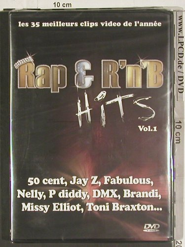 V.A.Rap & R'n'B Hits Vol.1: 50 Cent, Jay Z,Fabulous.., FS-New, NT106(ZENVD7), F, 2004 - DVD - 20093 - 14,00 Euro