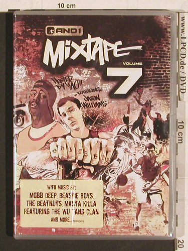 V.A.AND 1 Mixtape Vol.7: Mobb Deed...Wu Tang, PAL(PENDDVD4017), EU, 2004 - DVD - 20276 - 6,00 Euro
