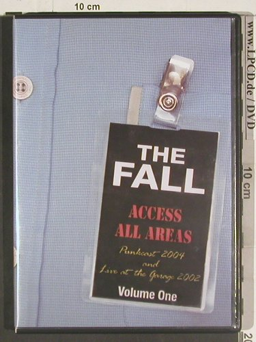 Fall: Access all Areas,Punkcast2004,Vol.1, Hip Priest(HIPP002DVD), UK, 2004 - 2DVD-V - 20028 - 10,00 Euro