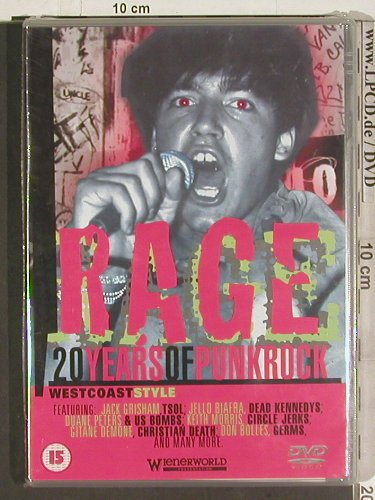 V.A.Rage 20 Years Of Punk Rock: Westcoast Style, FS-New, Wienerworld(WNRD 2126), , 2002 - DVD-V - 20140 - 10,00 Euro
