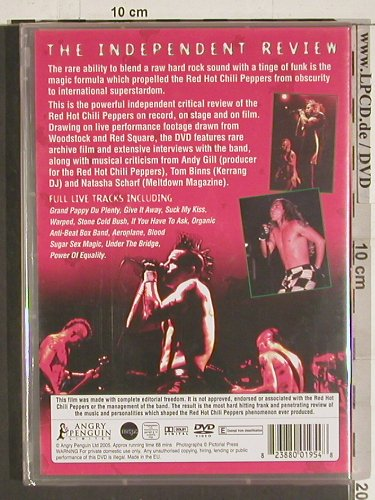 Red Hot Chili Peppers: Phenomenon-The Independent Review, Angry Penguin(PEN1954), EU,FS-New, 2005 - DVD-V - 20162 - 5,00 Euro