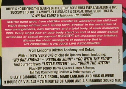 Queens of the Stone Age: Over the Years and through the Wood, Interscope(), , 2005 - DVD/CD - 20187 - 10,00 Euro