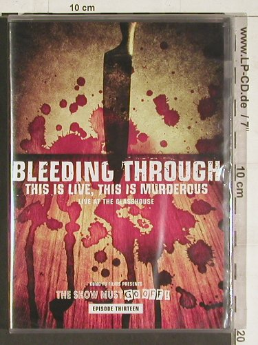 Bleeding Through: This is Live, this is Murderous, Kung Fu(13),Ab18(78828-9), FS-New, 2004 - DVD - 20196 - 10,00 Euro