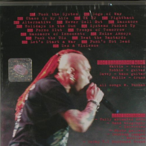 Exploited: Beat' Em All, FS-New, DreamCatcher(DRIDE59), EU, 2004 - DVD-V - 20248 - 14,00 Euro