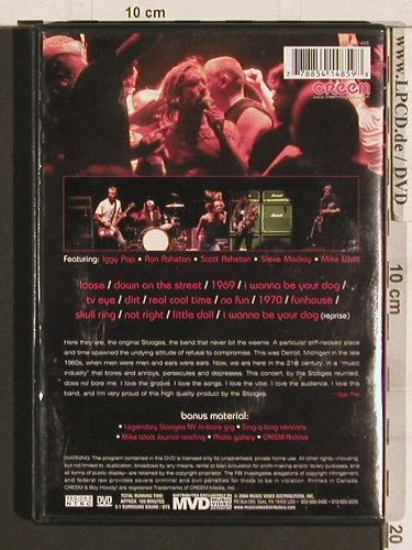 Iggy & the Stooges: Live in Detroit, Creen(DR-1485), , 2004 - DVD - 20273 - 10,00 Euro